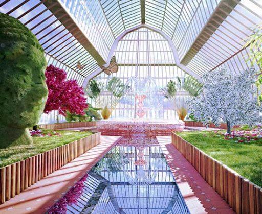 jardin serre 3d