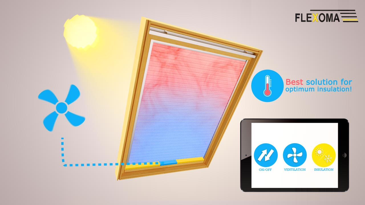 velux store isolation thermique