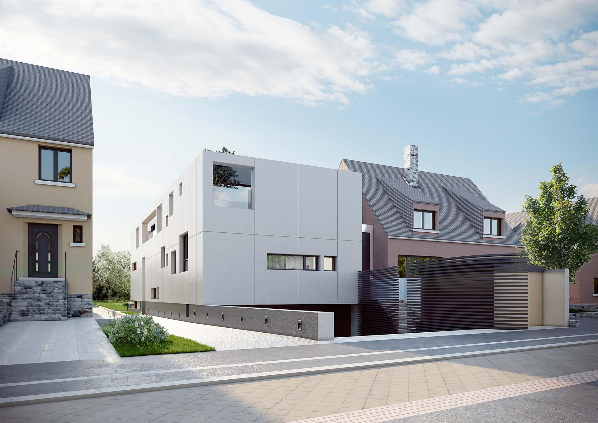 Villa Saphir Luxembourg - visuel 3D