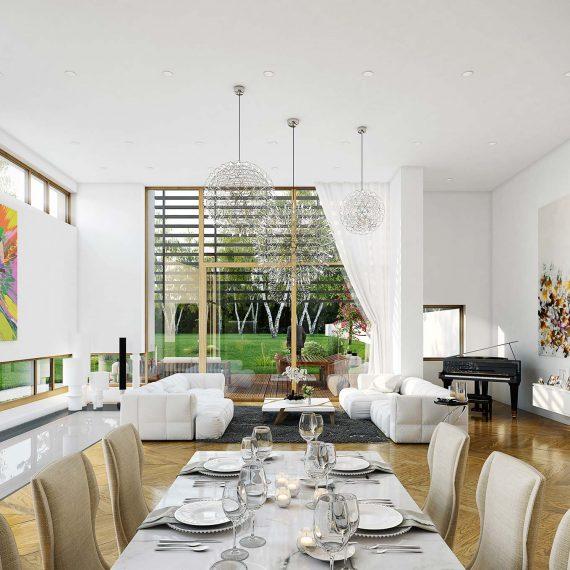 Villa Luxembourg - visuel 3D immobilier