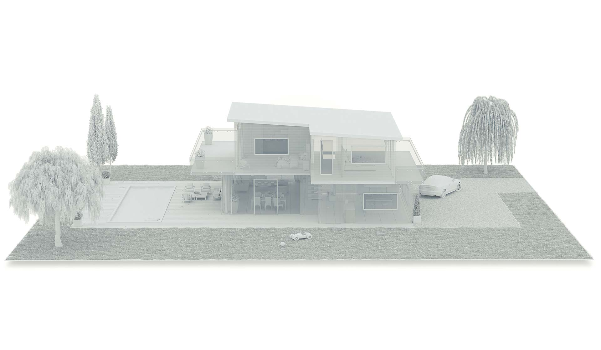 Hager Axo - Perspective 3D maison