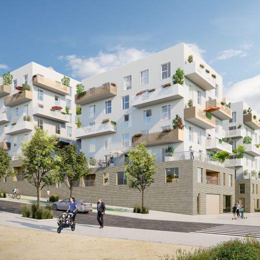 BNP Noisy le Sec - Architecture 3D