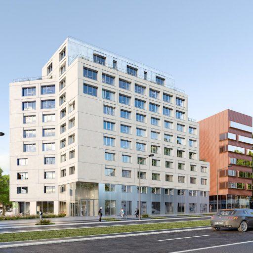 image 3d immeuble boulevard massena projet