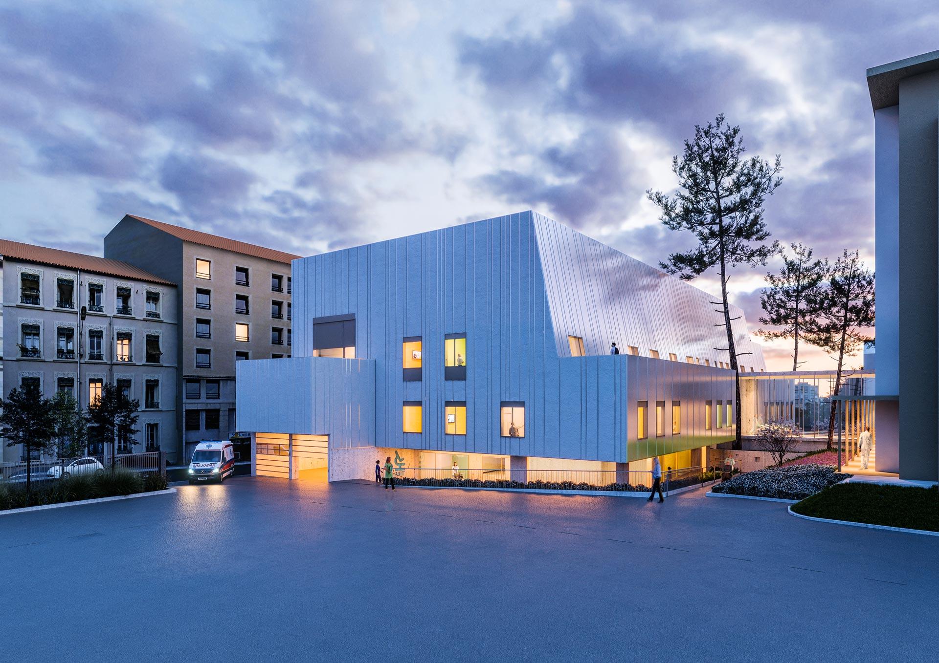 Perspective 3D architecture Lyon