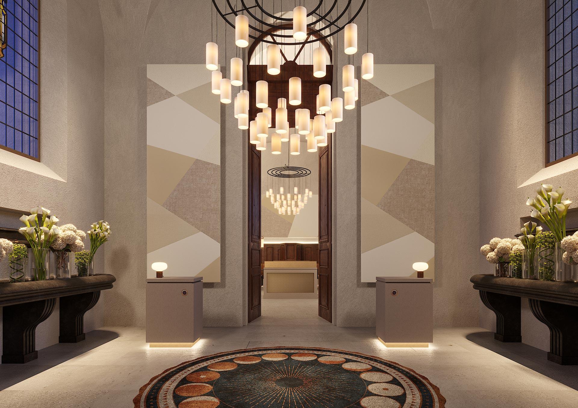Grand hôtel Dieu - Perspective 3D