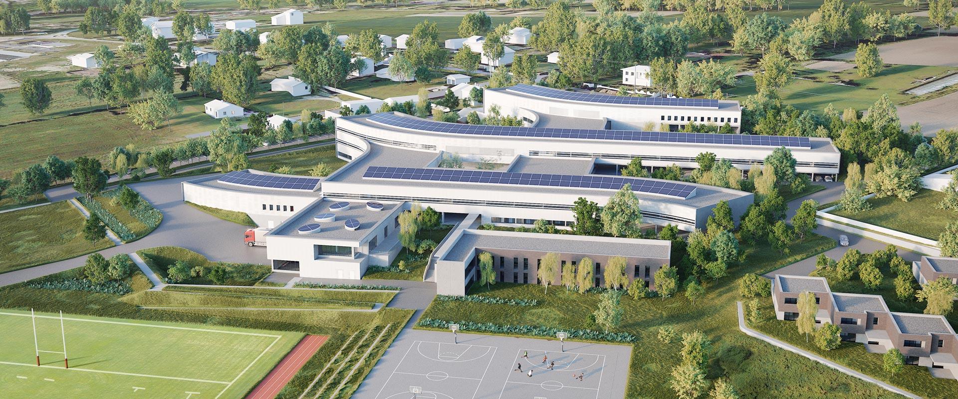 Lycée Gragnague infographie 3D architecture