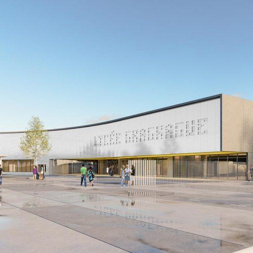 Lycée Gragnague infographie architecture 3D